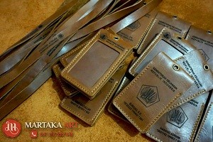 id card holder custom kemenkeu RI